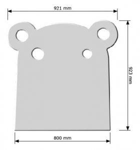 hippo 800mm