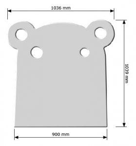 hippo 900mm